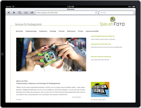 Screenshot von spass-am-Foto.de